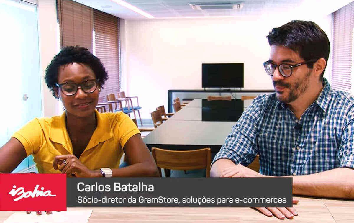 Entrevista para o portal iBahia sobre como começar um e-commerce
